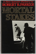 Books:Signed Editions, Robert B. Parker. SIGNED. Mortal Stakes. Boston: HoughtonMifflin, 1975. First edition, first printing. Signed on ...