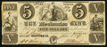 Canadian Currency: , Montreal, LC- The Mechanics Bank $5 June 1, 1837 Ch. # 435-10-04....