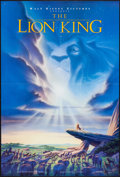 "Movie Posters:Animation, The Lion King (Buena Vista, 1994). One Sheet (27"" X 40"") DSAdvance. Animation.. ..."