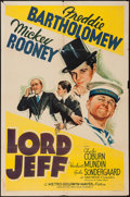 "Movie Posters:Drama, Lord Jeff (MGM, 1938). One Sheet (27"" X 41"") Style C. Drama.. ..."