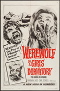 "Movie Posters:Horror, Werewolf in a Girls' Dormitory (MGM, 1963). One Sheet (27"" X 41"").Horror.. ..."