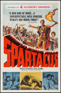 "Movie Posters:Action, Spartacus (Universal International, 1961). One Sheet (27"" X 41"")Academy Award Style. Action.. ..."