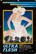 """Movie Posters:Adult, Ultra Flesh and Other Lot (Cinetrex, 1980). One Sheets (2) (27"""" X 41""""). Adult.. ... (Total: 2 Items)"""