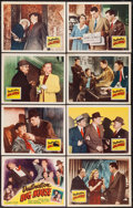 "Movie Posters:Crime, Destination Big House (Republic, 1950). Lobby Card Set of 8 (11"" X14""). Crime.. ... (Total: 8 Items)"