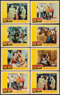 """Movie Posters:Musical, South Pacific (20th Century Fox, 1959). Lobby Cards (8) (11"""" X 14""""). Musical.. ... (Total: 8 Items)"""
