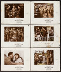 """Movie Posters:War, The Eve of St. Mark (20th Century Fox, 1944). Color-Glos LobbyCards (6) (11"""" X 14""""). War.. ... (Total: 6 Items)"""