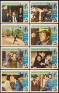 "Movie Posters:Mystery, Mirage (Universal, 1965). Lobby Card Set of 8 (11"" X 14""). Mystery.. ... (Total: 8 Items)"