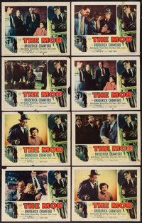"The Mob (Columbia, 1951). Lobby Cards (8) (11"" X 14""). Crime. ... (Total: 8 Items)"