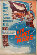 """Movie Posters:Science Fiction, Red Planet Mars (United Artists, 1952). Poster (40"""" X 60""""). Science Fiction.. ..."""