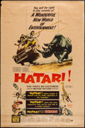"Movie Posters:Adventure, Hatari! (Paramount, 1962). Poster (40"" X 60"") Style Y. Adventure....."