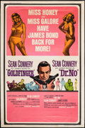 "Movie Posters:James Bond, Goldfinger/Dr. No Combo (United Artists, R-1966). Poster (40"" X60""). James Bond.. ..."