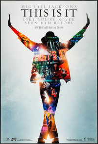 """This Is It (Sony, 2009). One Sheet (27"""" X 40""""). Documentary"""