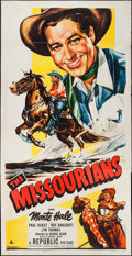 "Movie Posters:Western, The Missourians (Republic, 1950). Three Sheet (41"" X 79""). Western.. ..."
