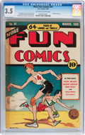 Golden Age (1938-1955):Miscellaneous, More Fun Comics #41 (DC, 1939) CGC VG- 3.5 Off-white to white pages....