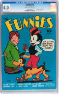 Golden Age (1938-1955):Miscellaneous, The Funnies #30 (Dell, 1939) CGC VG 4.0 Cream to off-white pages....