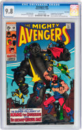 Silver Age (1956-1969):Superhero, The Avengers #69 Twin Cities pedigree (Marvel, 1969) CGC NM/MT 9.8 White pages....