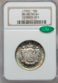 Commemorative Silver: , 1920 50C Maine MS64 NGC. CAC. NGC Census: (1115/1185). PCGSPopulation (1265/1350). Mintage: 50,028. Numismedia Wsl. Price ...