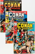 Bronze Age (1970-1979):Adventure, Conan the Barbarian Group (Marvel, 1970-71) Condition: Average VG/FN.... (Total: 6 Comic Books)