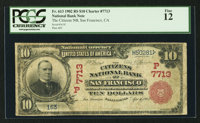 San Francisco, CA - $10 1902 Red Seal Fr. 613 The Citizens NB Ch. # (P)7713