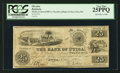 Obsoletes By State:Michigan, Utica, MI- The Shelby & Detroit Rail Road Company at the Bank of Utica 25¢ May 1, 1838 Lee UTI-3-6. ...