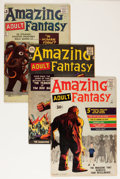 Silver Age (1956-1969):Science Fiction, Amazing Adult Fantasy Group (Marvel, 1961-62).... (Total: 9 ComicBooks)