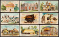 "Non-Sport Cards:Sets, 1890 N113 Duke ""Habitations of Man"" Collection (27). ..."