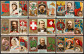 "Non-Sport Cards:Singles (Pre-1950), 1888 N126 Duke ""Rulers, Flags, and Coats of Arms"" Partial Set(27/51). ..."