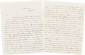 Autographs:Military Figures, [Mexican War]. John Pope Autograph Letter Signed ...