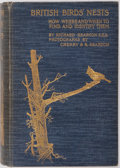 Books:Natural History Books & Prints, Richard Kearton. British Birds' Nests. Cassell, [n. d., ca. 1912]. 520 pages and illustrated with photographic images. Publish...