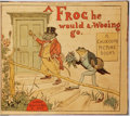 Books:Children's Books, Randolph Caldecott. Group of Six Picture Books Bound as a SingleVolume. Includes: A Frog He Would A-Wooing Go, The Milkmaid, ...