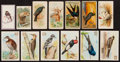 Non-Sport Cards:Lots, 1880's Multi-Brand US and UK Tobacco Cards Collection (59) - Birdsand Animals. ...