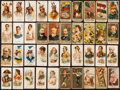 "Non-Sport Cards:Lots, 1880's Allen & Ginter, Duke, Kinney & Sweet Caporal ""N""Tobacco Card Collection (40). ..."