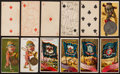 Non-Sport Cards:Sets, 1880's N72 Duke, N233 Kinney and N11 Allen & Ginter Partial andNear Set Trio (3). ...