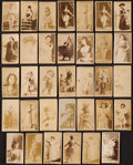 "Non-Sport Cards:Lots, 1880's N245 Sweet Caporal ""Actors and Actresses"" Collection (34)...."