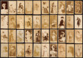 "Non-Sport Cards:Lots, 1880's N245 Sweet Caporal ""Actors and Actresses"" Collection (40)...."