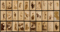 "Non-Sport Cards:Lots, 1880's N392 Admiral Cigarettes ""Actresses"" Collection (30). ..."