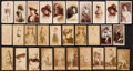 "Non-Sport Cards:Lots, 1880's-90's N392 Admiral Cigarettes and N215 Kinney ""Actresses""Collection (30). ..."