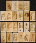 "Non-Sport Cards:Lots, 1880's Anonymous ""Actresses"" Collection (22). ..."