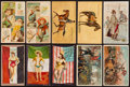 Non-Sport Cards:Lots, 1880's-90's Duke & Sons N81, N99, N101, N109, N128 Collection(42). ...