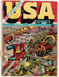 USA Comics #2 (Timely, 1941) Condition: GD