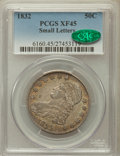 Bust Half Dollars: , 1832 50C Small Letters XF45 PCGS. CAC. PCGS Population (277/1402).NGC Census: (205/1534). Mintage: 4,797,000. Numismedia W...