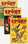 Golden Age (1938-1955):Non-Fiction, True Sport Picture Stories Group (Street & Smith, 1944-48)Condition: Average VG.... (Total: 6 Comic Books)