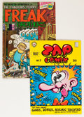 Silver Age (1956-1969):Alternative/Underground, Underground Comix Group (1968-71).... (Total: 2 Comic Books)