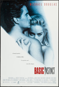 "Basic Instinct (Tri-Star, 1992). One Sheet (27"" X 40""). Thriller"