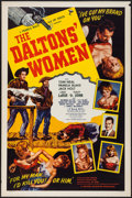 "Movie Posters:Western, The Daltons' Women (Western Adventures Pictures, 1950). One Sheet (27"" X 41""). Style B. Western.. ..."