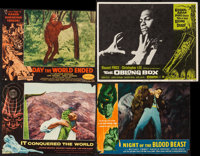 """It Conquered the World and Others Lot (American International, 1956). Lobby Card (11"""" X 14"""") & Trimmed..."""