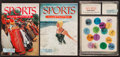 Miscellaneous Collectibles:General, 1954 Sports Illustrated First Three Issues....