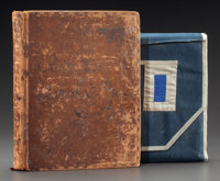 ASTOR FAMILY: THE U.S. CYANE SHIP JOURNAL BY ROBERT TRAILL SPENCE IN FLAG COVER SLEEVE</