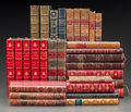Fine Art - Work on Paper, LEATHER BINDINGS: SEVERAL SETS AND ASSORTED VOLUMES REGARDINGNAPOLEON AND OTHERS. Various authors, titles, and editions. Ea...(Total: 30 Items)