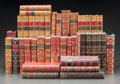 Fine Art - Work on Paper, LEATHER BINDINGS: AN ASSORTMENT OF FORTY-ONE MAINLY HISTORICALVOLUMES . Various authors, publishers, and editions. Late 19t...(Total: 41 Items)